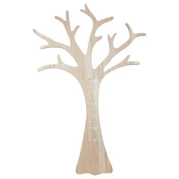 Toise de croissance arbre en bois
