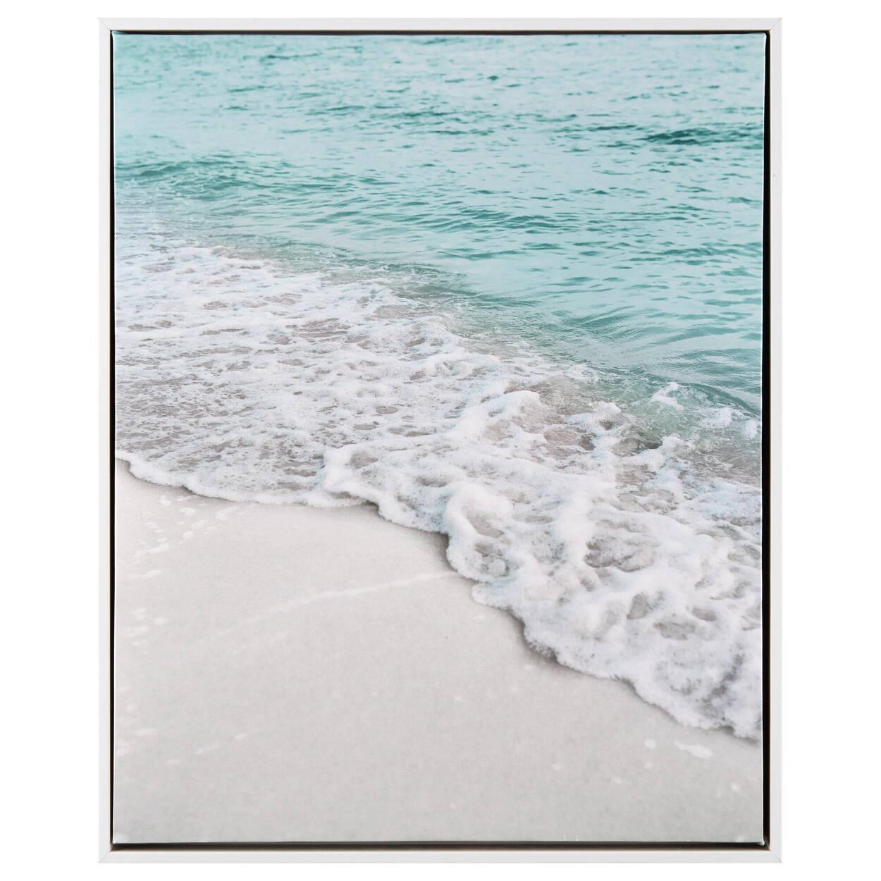 Sandy Beach Framed Art
