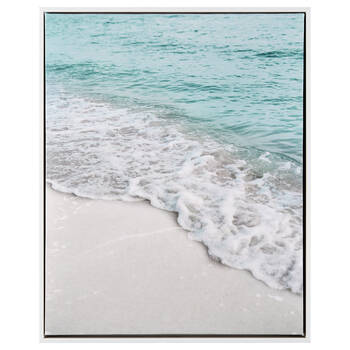 Sandy Beach Framed Art