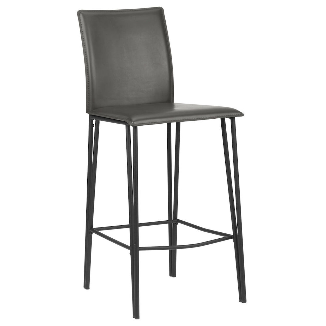 Faux Leather and Metal Counter Stool Bouclaircom : 9389640 from www.bouclair.com size 1250 x 1250 jpeg 51kB