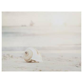 Sandy Beach Printed Canvas