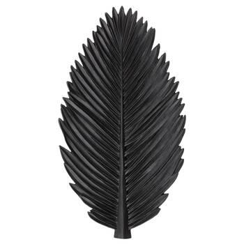 Assiette décorative feuille de palmier