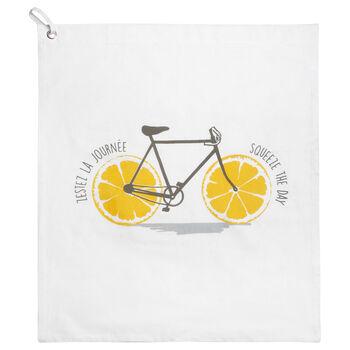 Bike Printed Hand Towel