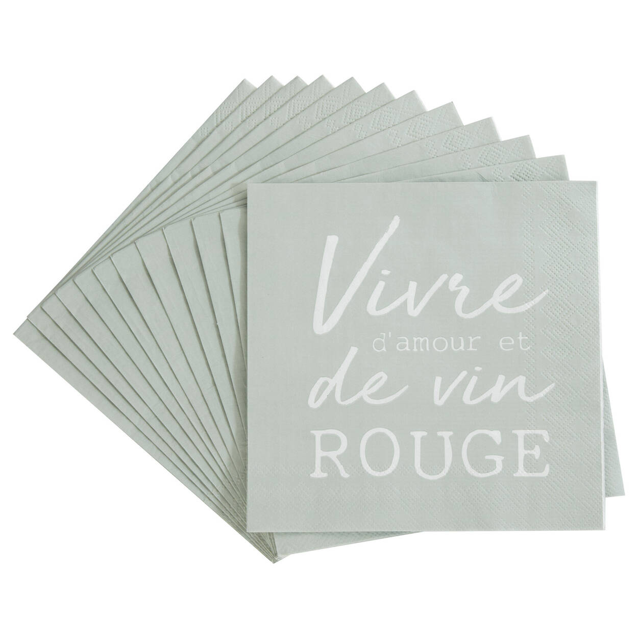 Pack of 20 Vivre Paper Napkins