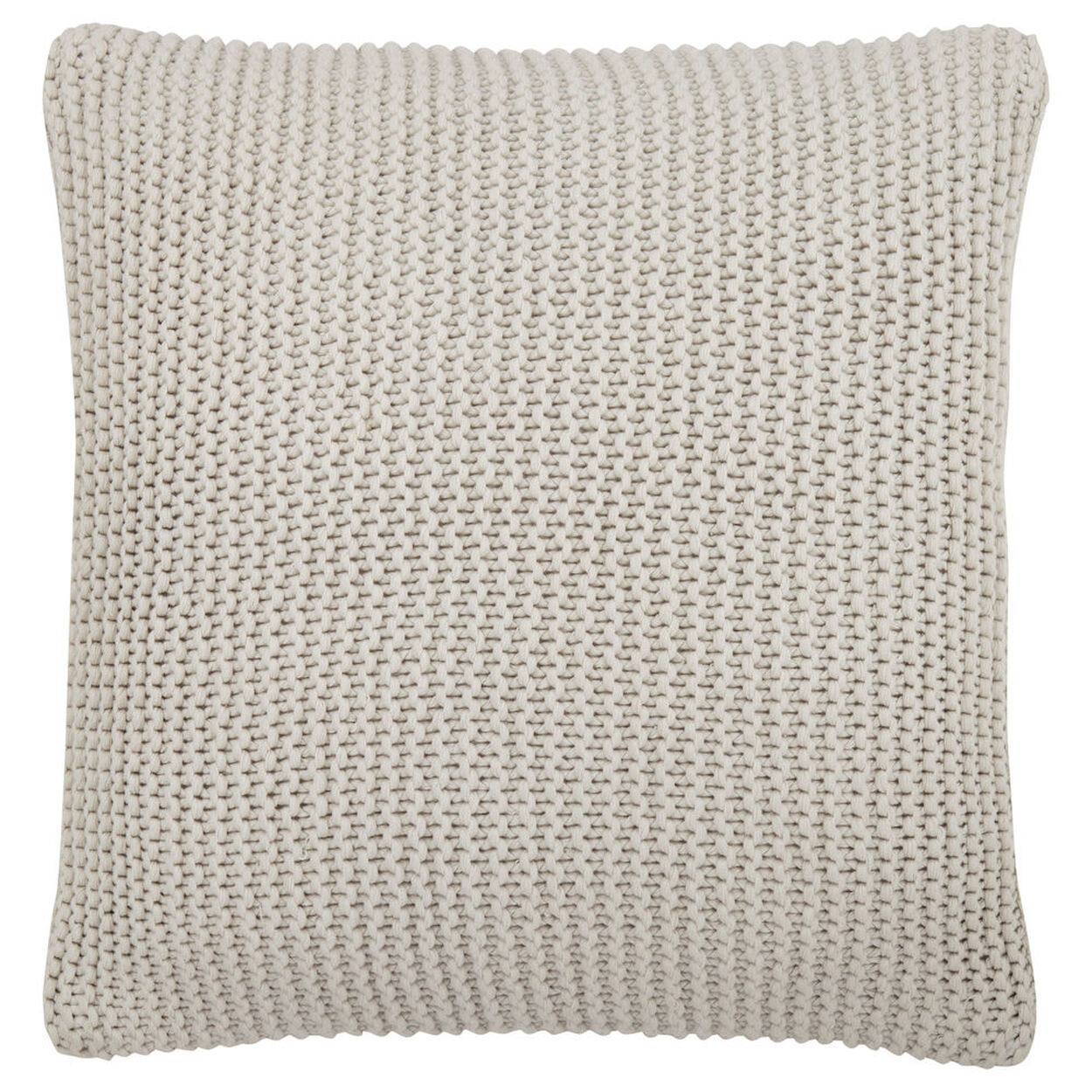 "Kinge Knitted Decorative Pillow 20"" X 20"""