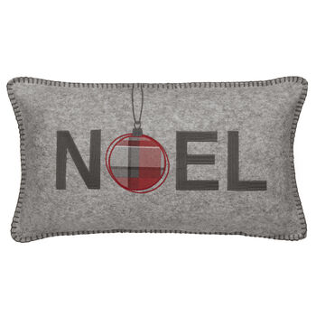 "Noel Decorative Lumbar Pillow 11"" X 20"""