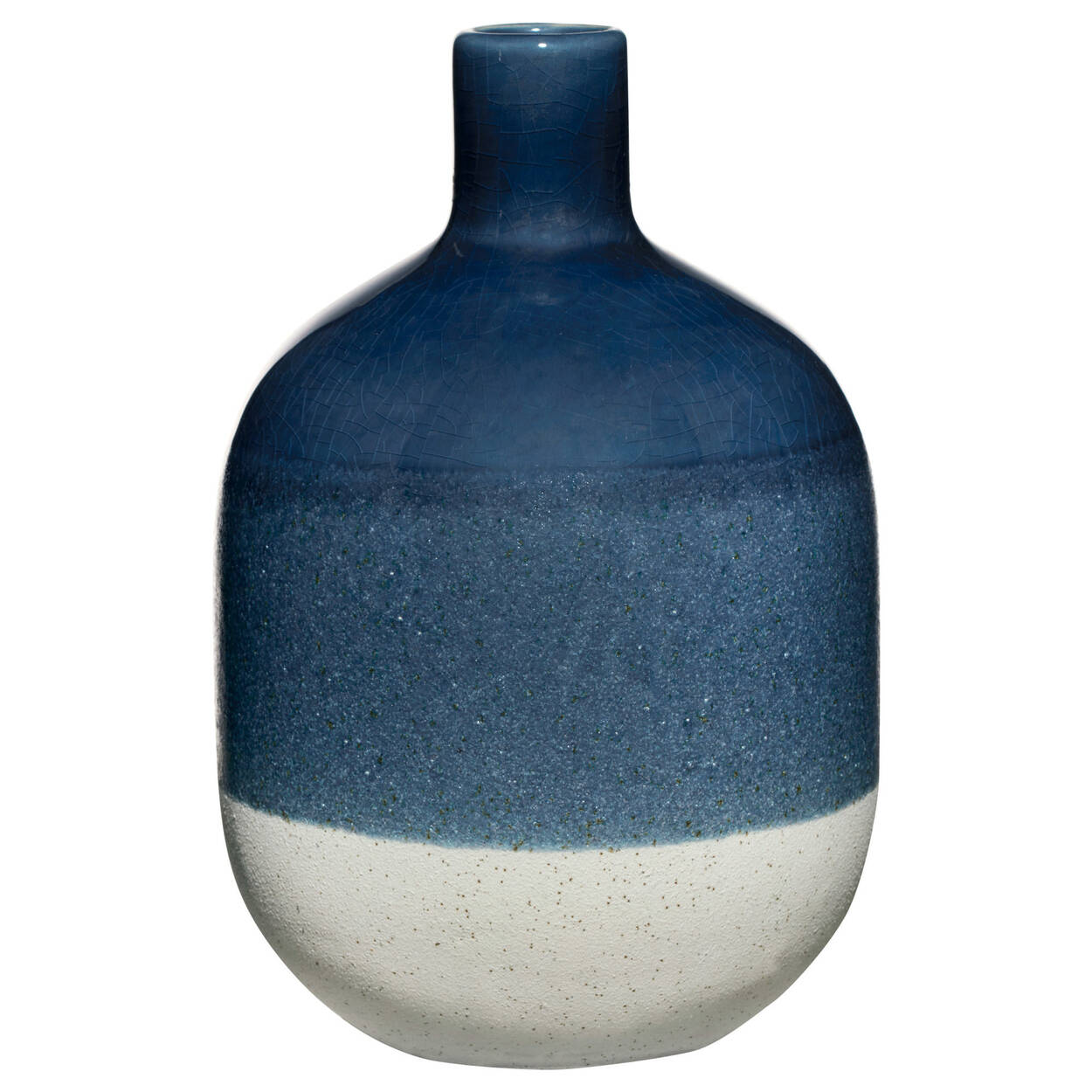 Triple Effect Ceramic Vase