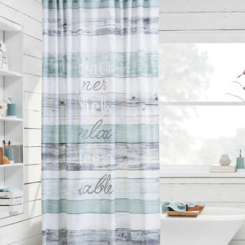 Beachwood Shower Curtain