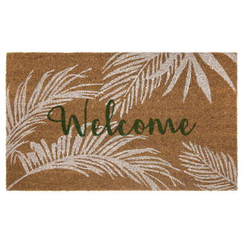 Welcome Tropical Doormat