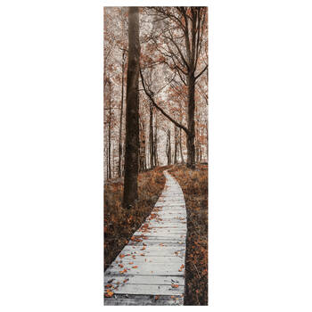 Fall Pathway Printed Canvas