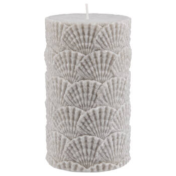 Seashells Pillar Candle