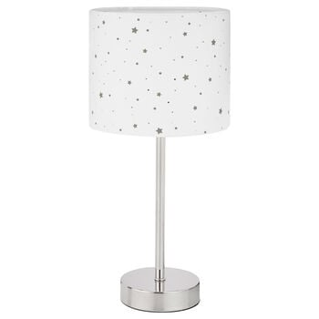 Star Pattern Cut-Out Table Lamp