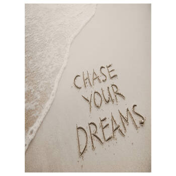 Chase Your Dreams Printed Canvas