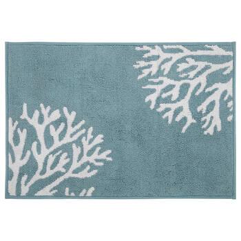 Tapis de bain corail