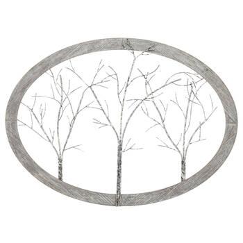 Trees Wood & Metal Wall Art