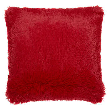 "Furry Decorative Pillow 17"" X 17"""