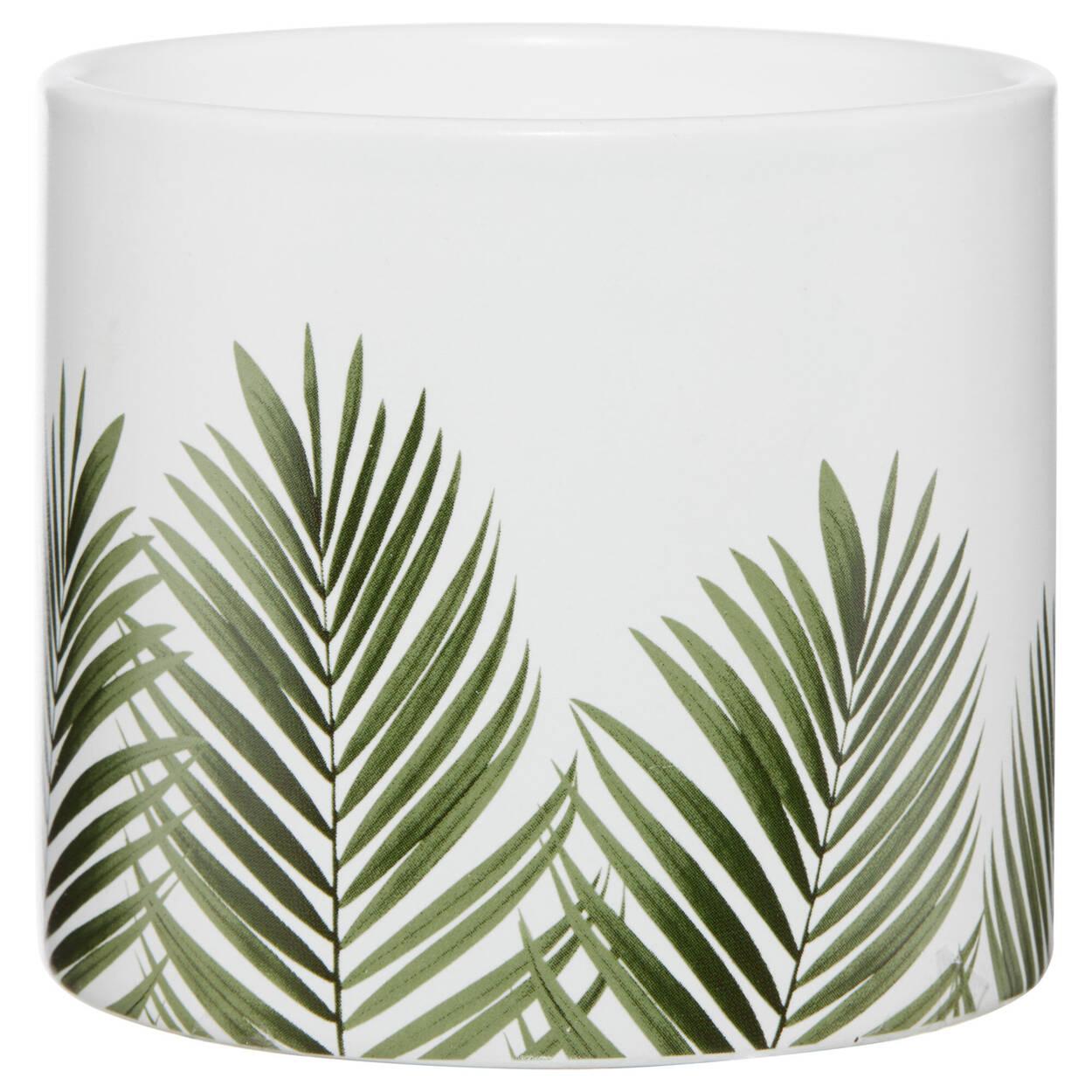 Tropical Leaf Candle Holder