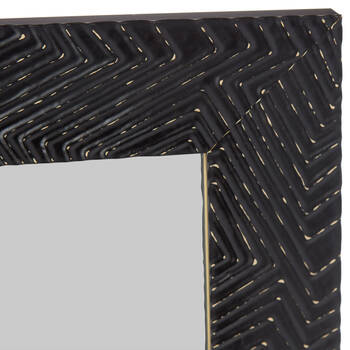 Textured Frame Mirror