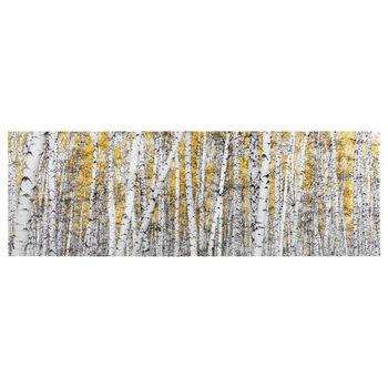 Yellow Birch Forest Canvas