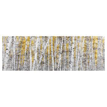 Yellow Birch Forest Canvas