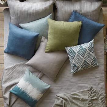 "Tabetha Linen Decorative Pillow 20"" X 20"""