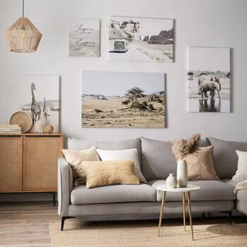 Winnebago in Desert Printed Canvas