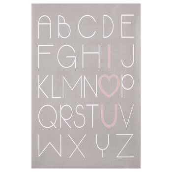 I Love You Typography Canvas
