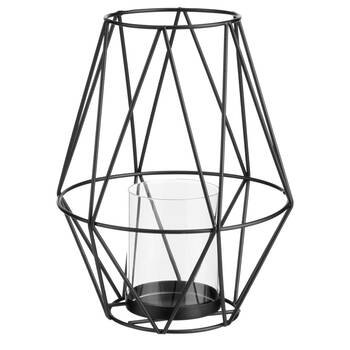 Geometric Wire Candle Holder