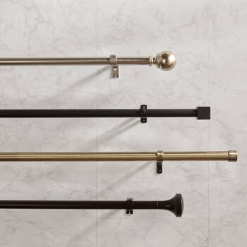 Curtain Rod Set - Diameter 25mm