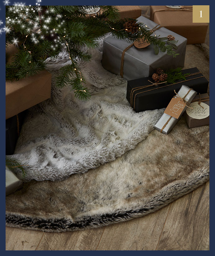 how to decorate faux fur
